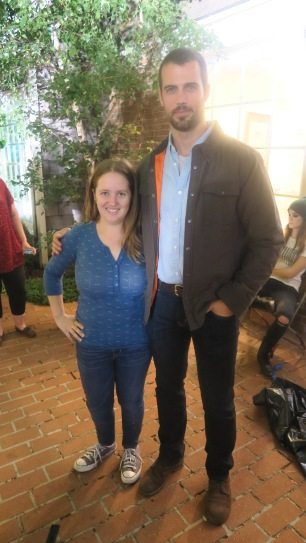 with Thomas Beaudion (Keane)
